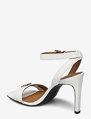 Tommy Hilfiger - TOMMY PADDED HIGH HEEL SANDAL - heeled sandals - ecru - 2