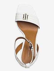 Tommy Hilfiger - TOMMY PADDED HIGH HEEL SANDAL - heeled sandals - ecru - 3