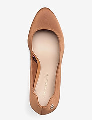 Tommy Hilfiger - TOMMY ESSENTIAL HIGH HEEL PUMP - classic pumps - dusty bronze - 3