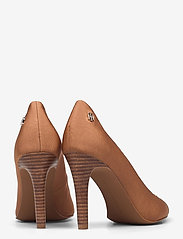 Tommy Hilfiger - TOMMY ESSENTIAL HIGH HEEL PUMP - classic pumps - dusty bronze - 4