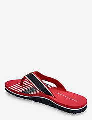 Tommy Hilfiger - TOMMY SIGNATURE BEACH SANDAL - flat sandals - primary red - 2