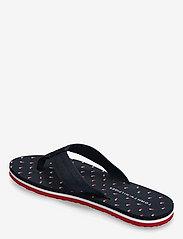 Tommy Hilfiger - TH MINI FLAGS BEACH SANDAL - flat sandals - desert sky - 2