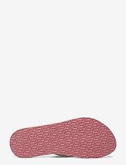 Tommy Hilfiger - TH MINI FLAGS BEACH SANDAL - flat sandals - light pink - 4