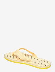 Tommy Hilfiger - TH MINI FLAGS BEACH SANDAL - flat sandals - vivid yellow - 2