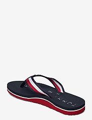 Tommy Hilfiger - TOMMY RIBBON FLAT BEACH SANDAL - flat sandals - desert sky - 2