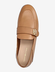 Tommy Hilfiger - TH ESSENTIALS LEATHER LOAFER - loafers - summer cognac - 3