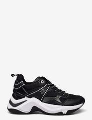 Tommy Hilfiger - FASHION WEDGE SNEAKER - low top sneakers - black - 1