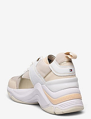 Tommy Hilfiger - FASHION WEDGE SNEAKER - low top sneakers - sugarcane - 2