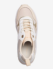 Tommy Hilfiger - FASHION WEDGE SNEAKER - low top sneakers - sugarcane - 3