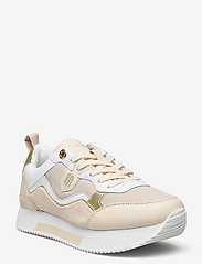 Tommy Hilfiger - MATERIAL MIX ACTIVE CITY SNEAKER - low top sneakers - sugarcane - 0