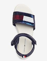 Tommy Hilfiger - VELCRO SANDAL BLUE - sandals - blu - 3