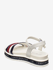 Tommy Hilfiger - PLATFORM SANDAL BLUE/RED/WHITE - sandals - blu/rosso/bianco - 2