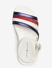 Tommy Hilfiger - PLATFORM SANDAL BLUE/RED/WHITE - sandals - blu/rosso/bianco - 3