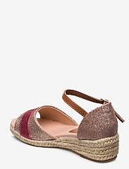 Tommy Hilfiger - ROPE WEDGE SANDAL - sandals - rosa - 2