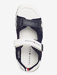 Tommy Hilfiger - VELCRO SANDAL - sandals - blu/bianco - 3