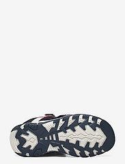 Tommy Hilfiger - VELCRO SANDAL - sandals - blu/bianco - 4
