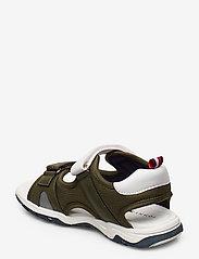 Tommy Hilfiger - VELCRO SANDAL - sandals - military green/white - 2