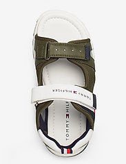 Tommy Hilfiger - VELCRO SANDAL - sandals - military green/white - 3