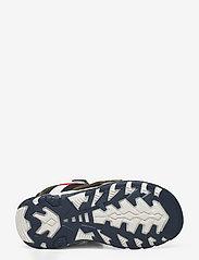 Tommy Hilfiger - VELCRO SANDAL - sandals - military green/white - 4