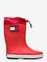 Tommy Hilfiger - RAIN BOOT BLUE - gummistøvler - rosso - 1