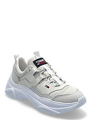 TOMMY JEANS LIGHTWEIGHT SHOE - WHITE