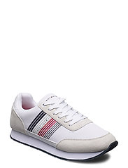 CORPORATE MATERIAL MIX RUNNER - WHITE