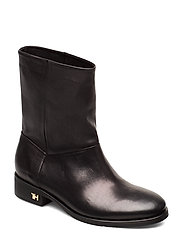 MONO COLOR FLAT BOOT - BLACK
