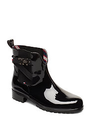 TH HARDWARE RUBBER BOOTIE - BLACK