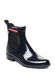 COLOR BLOCK RAINBOOT - MIDNIGHT