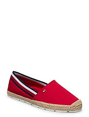 BASBASIC TOMMY CORP ESPADRILLE - PRIMARY RED