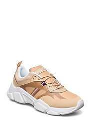 TECHNICAL CHUNKY TOMMY SNEAKER - LIGHT GOLD