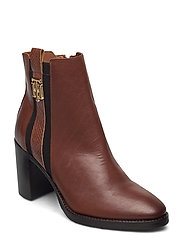 TH INTERLOCK HIGH HEEL BOOT - PUMPKIN PARADISE
