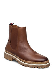 RUGGED CLASSIC CHELSEA BOOT - NATURAL COGNAC