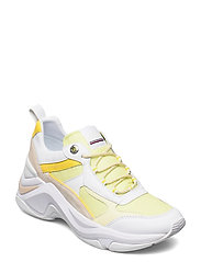 FASHION WEDGE SNEAKER - FROSTED LEMON