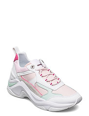 FASHION WEDGE SNEAKER - LIGHT PINK