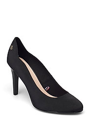 TOMMY ESSENTIAL HIGH HEEL PUMP - BLACK