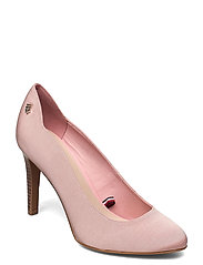 TOMMY ESSENTIAL HIGH HEEL PUMP - SOOTHING PINK