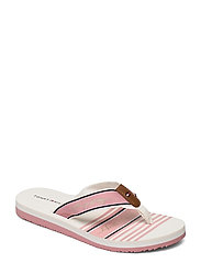 TOMMY SIGNATURE BEACH SANDAL - SOOTHING PINK