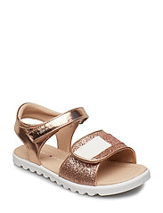 VELCRO SANDAL - ROSE GOLD