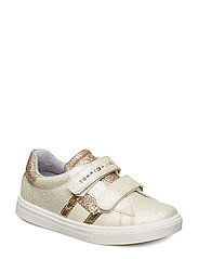 LOW CUT VELCRO-so 514,904 - PLATINO