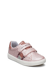 LOW CUT VELCRO-so 514,904 - ROSA
