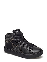 LACE-UP HIGH TOP SNEAKER