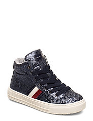 HIGH TOP LACE-UP - can 800 - BLU