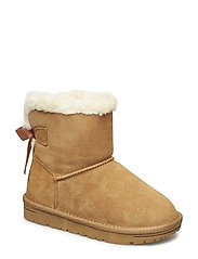 FUR BOOT - CAMEL