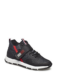 LACE-UP/VELCRO SNEAKER
