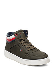 HIGH TOP LACE-UP - can 402 - VERDE MILITARE