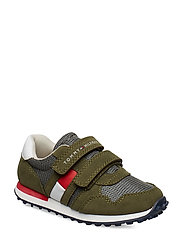LOW CUT VELCRO-CAN 900,400 - VERDE MILITARE