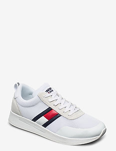 FLEXI TOMMY JEANS FL - baskets slip-ons - white