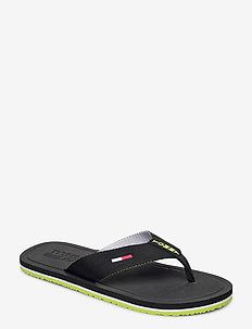 COMFORT FOOTBED BEAC - BLACK