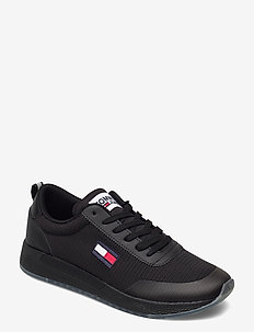 TOMMY JEANS FLEXI RUNNER - lave sneakers - black